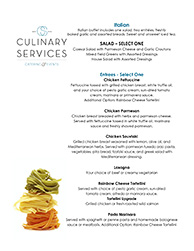 atlanta italian catering rh culinaryservicesinc com italian buffet menu recipes italian buffet menu ideas